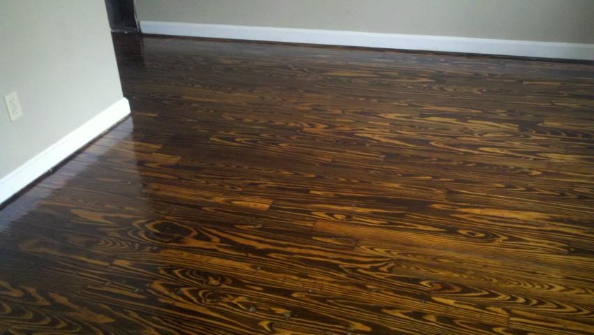 After Galveston hardwood floor refinishing