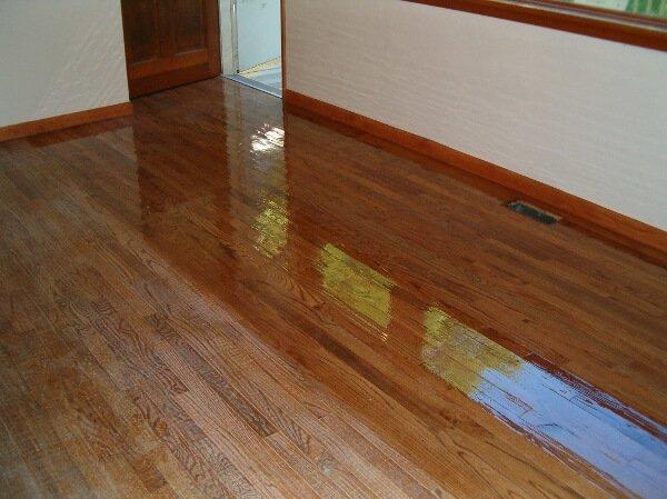 Hardwood floor resurfacing in Houston
