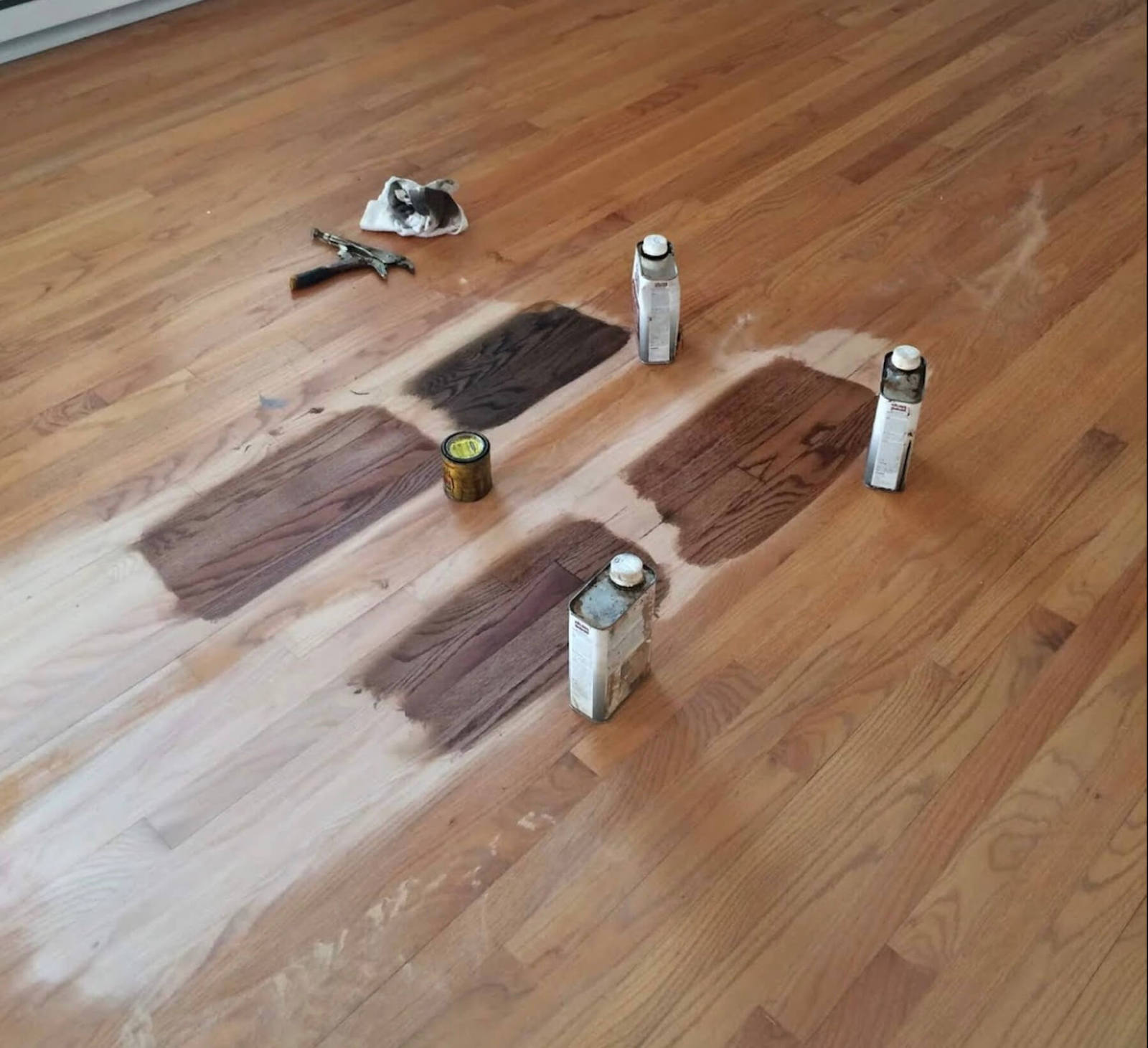 hardwood floor staining in houston